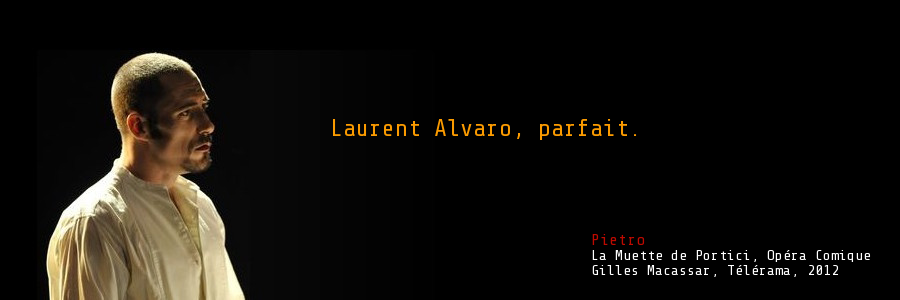 Laurent Alvaro - Site web officiel